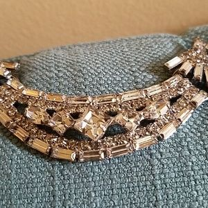 Vintage Jewelry - Vintage Art Deco Dazzling Pendant w/Movement-Gorg!
